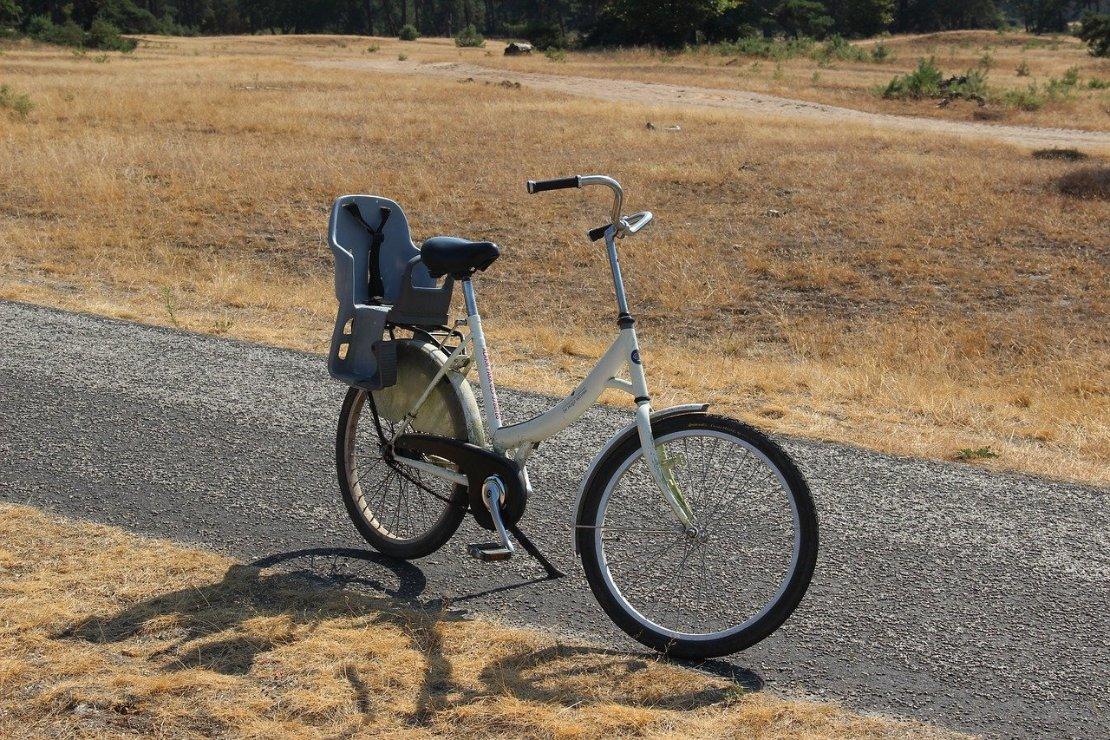 Stuiven met de witte fietsen door de Hoge Veluwe a