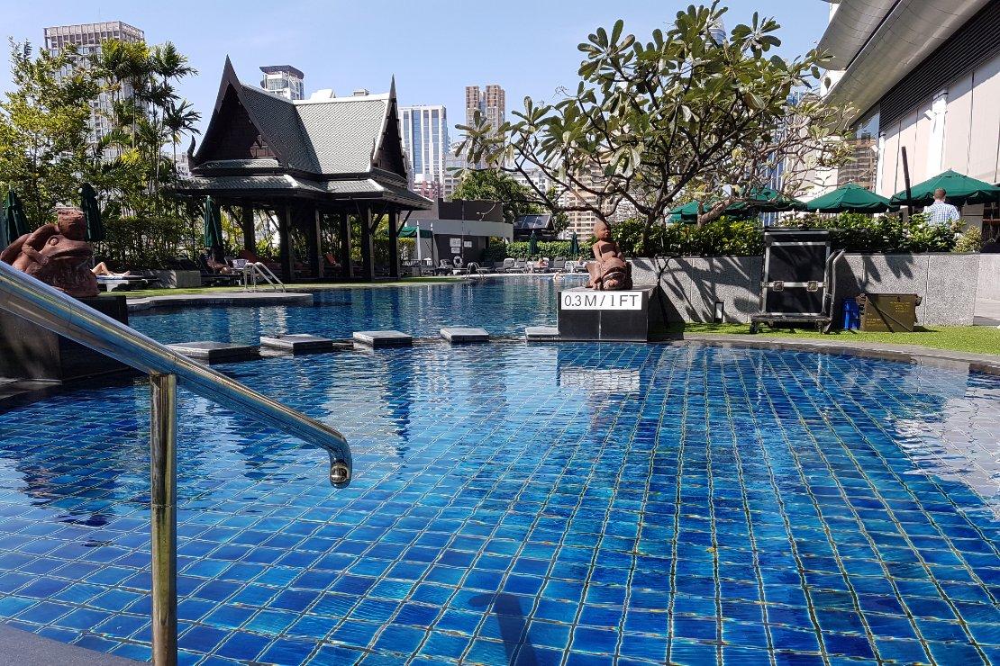 Bangkok waar plezier en zaken samenkomen Hotel Zwembad
