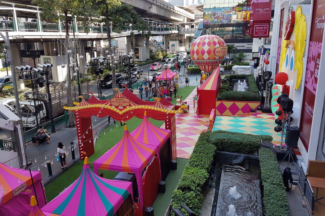 Bangkok waar plezier en zaken samenkomen Kerst