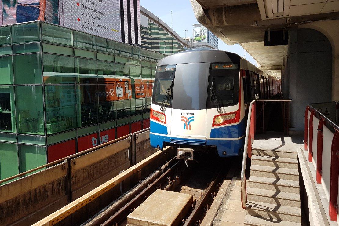 Bangkok waar plezier en zaken samenkomen Trein