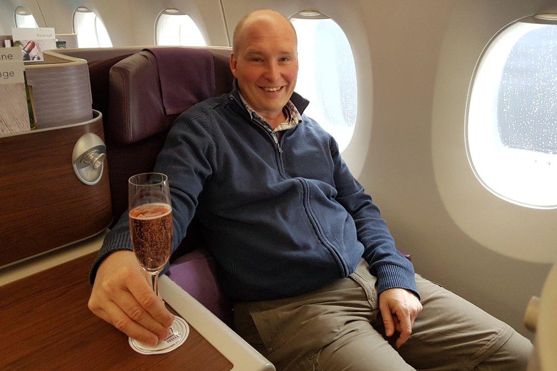 Bangkok waar plezier en zaken samenkomen Vliegtuig