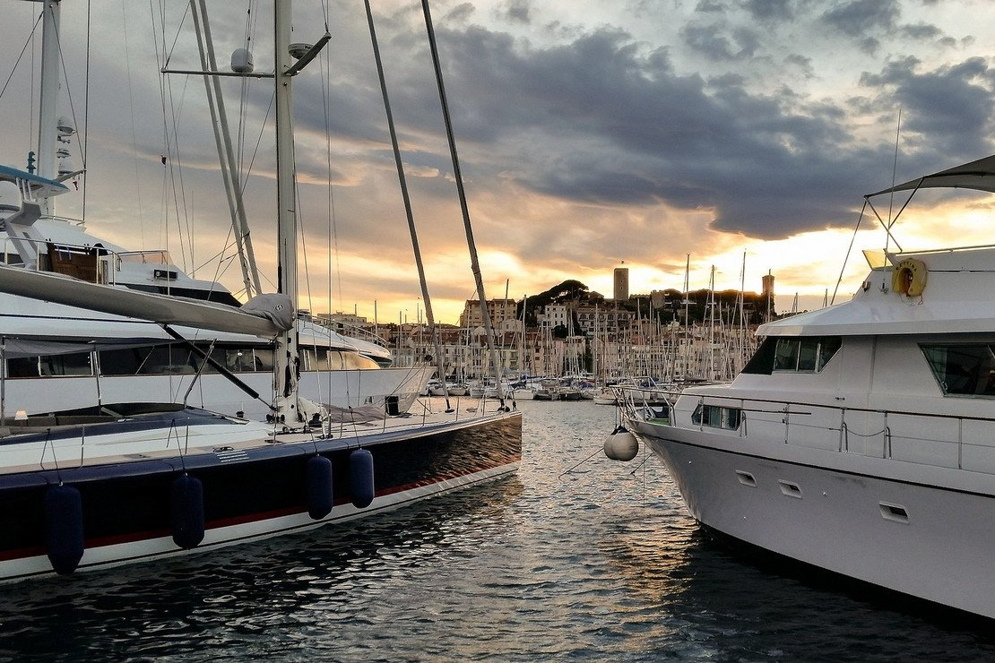Cruisen langs de Franse Rivièr