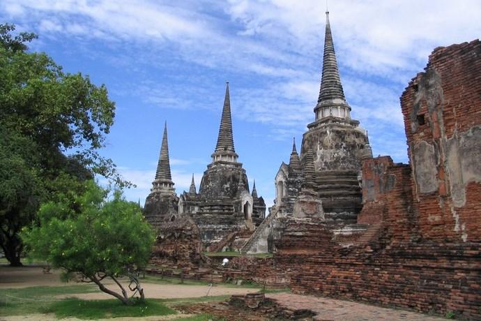 Ayutthaya Chedi