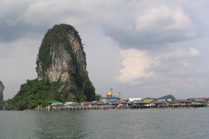 Kalkrotsen Thailand 2