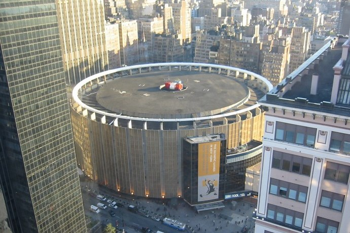 Madison Square Garden Omgeving