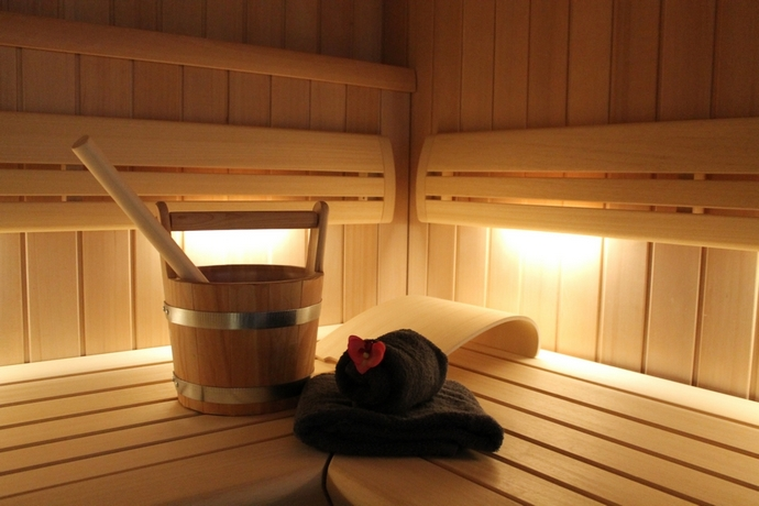 Sauna en sanarium - Prive-wellness Eiland