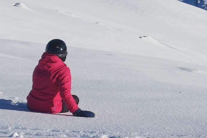 Sneeuwvlakte Valloire