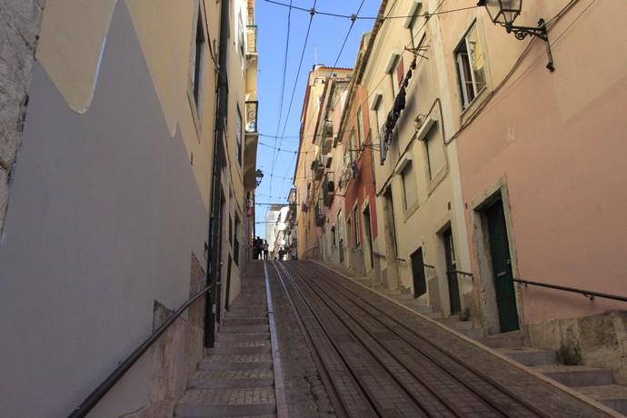 Straatbeeld Lissabon