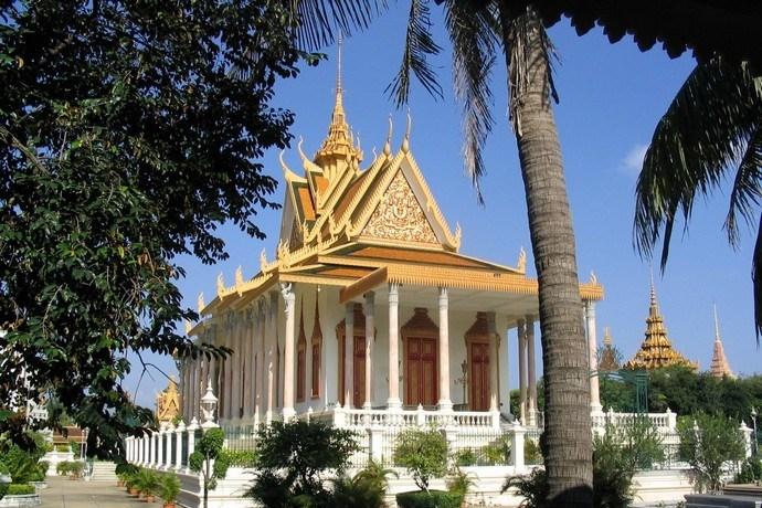 Zilveren Pagode Cambodja