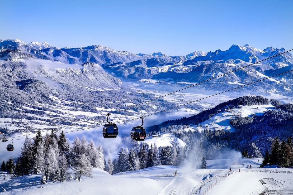 De mooiste skigebieden in Oostenrijk